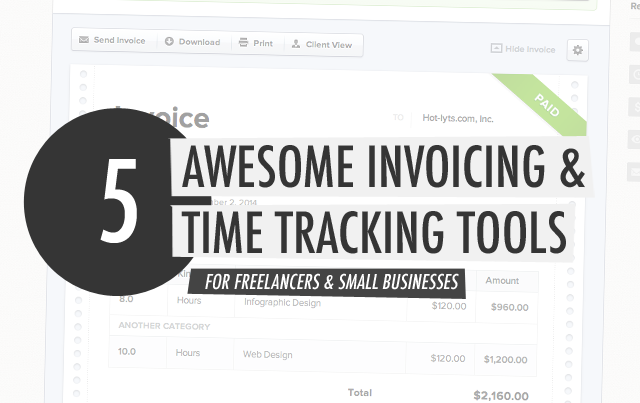 Looking for the best invoicing software and time tracking tool? Are you a freelancer or a small business owner that wants to save time and easily track your work? Here are some great tools you can check out today.