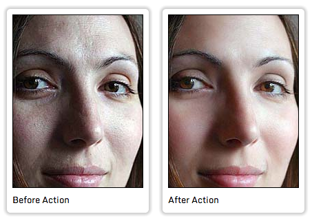 Soften Skin Effect Action