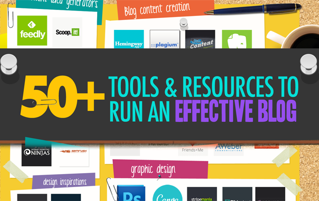 50+ Awesome Tools I Use To Run An Effective Blog