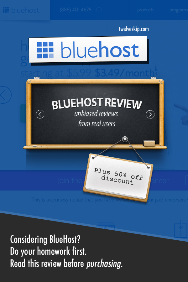 BlueHost Web Hosting Reviews From Real Users http://www.twelveskip.com/reviews/web-hosting/1360/bluehost-web-hosting-review #webhosting #BlueHost