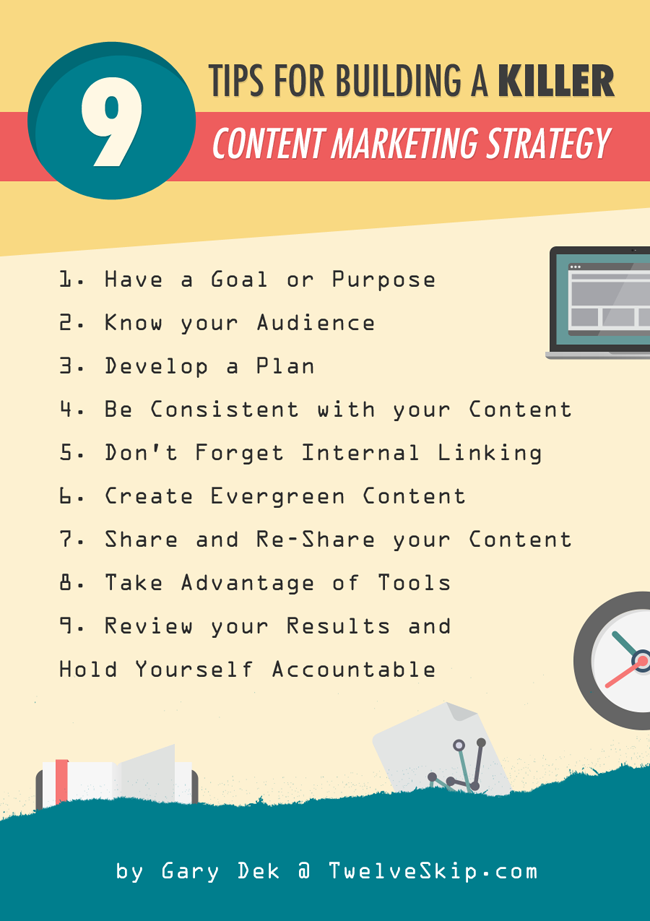 Building Killer Content Marketing Strategy