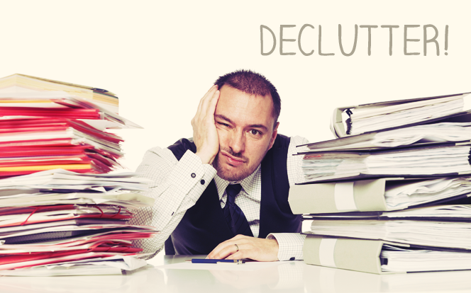 declutter your office