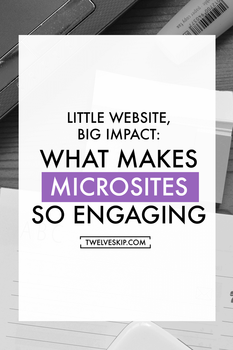 Little Website, Big Impact: What Makes Microsites So Engaging