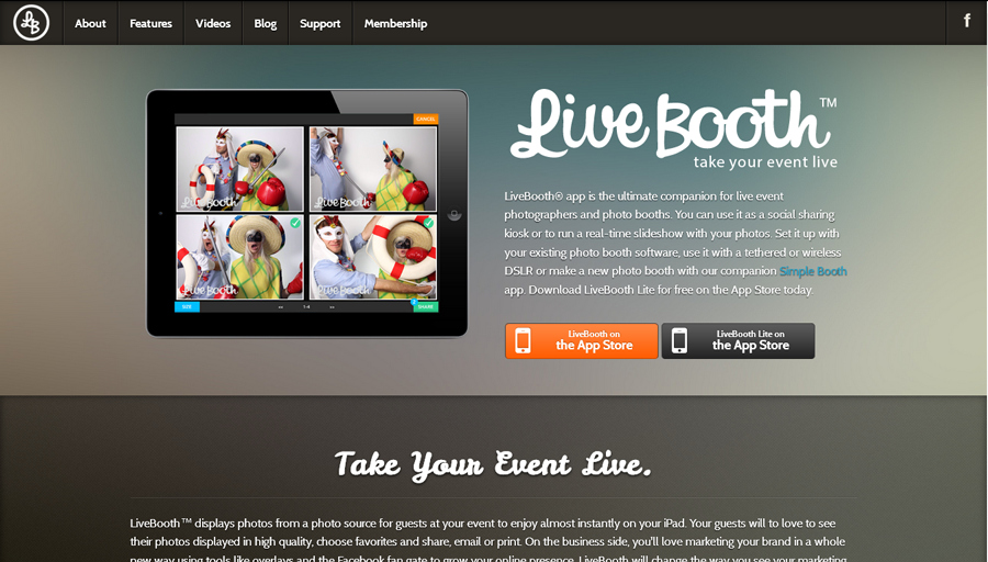 live booth app