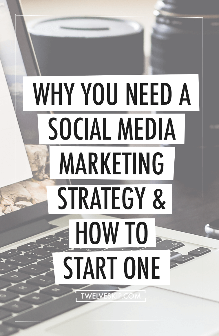 Start Social Media Marketing Strategy