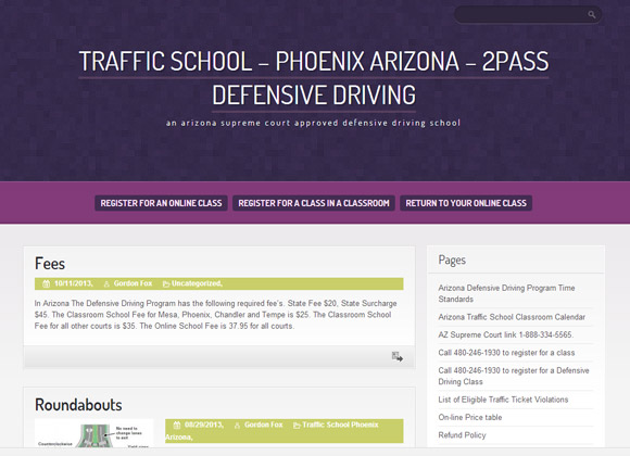 TrafficSchool2passDD