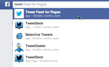 Lier une page Facebook à un compte Twitter - Aussitot.fr