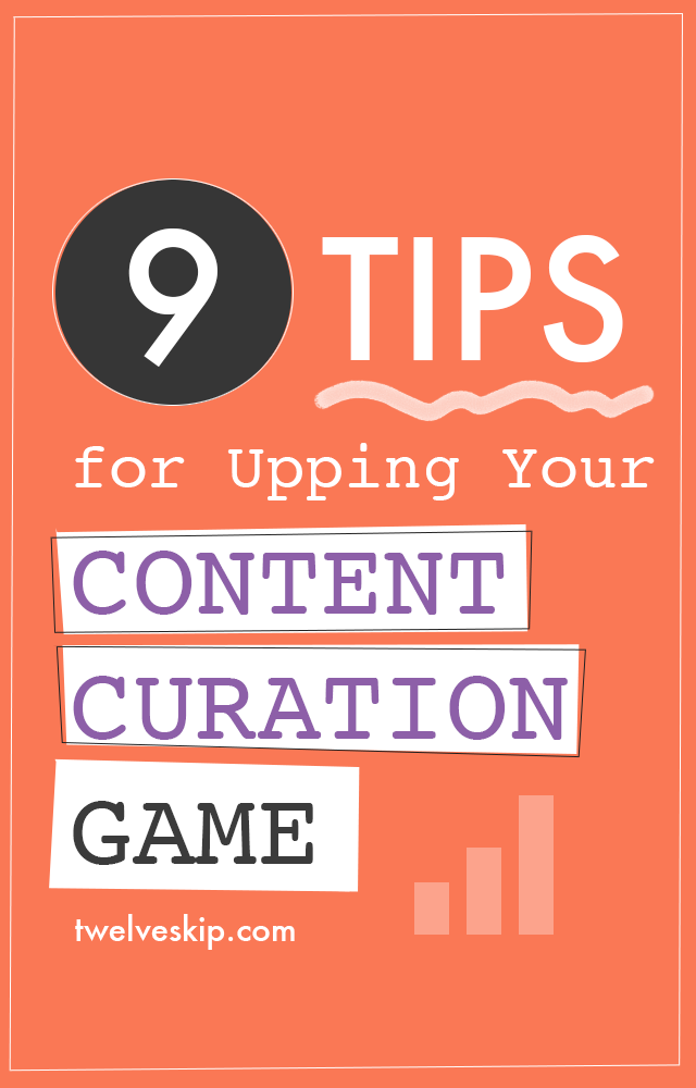 Upping Your Content Curation Game #contentmarketing