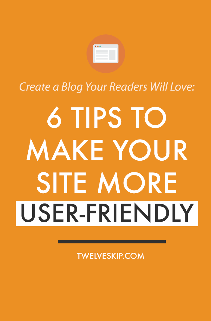 Make Your Website More User-Friendly
