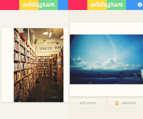 Whitagram Iphone App