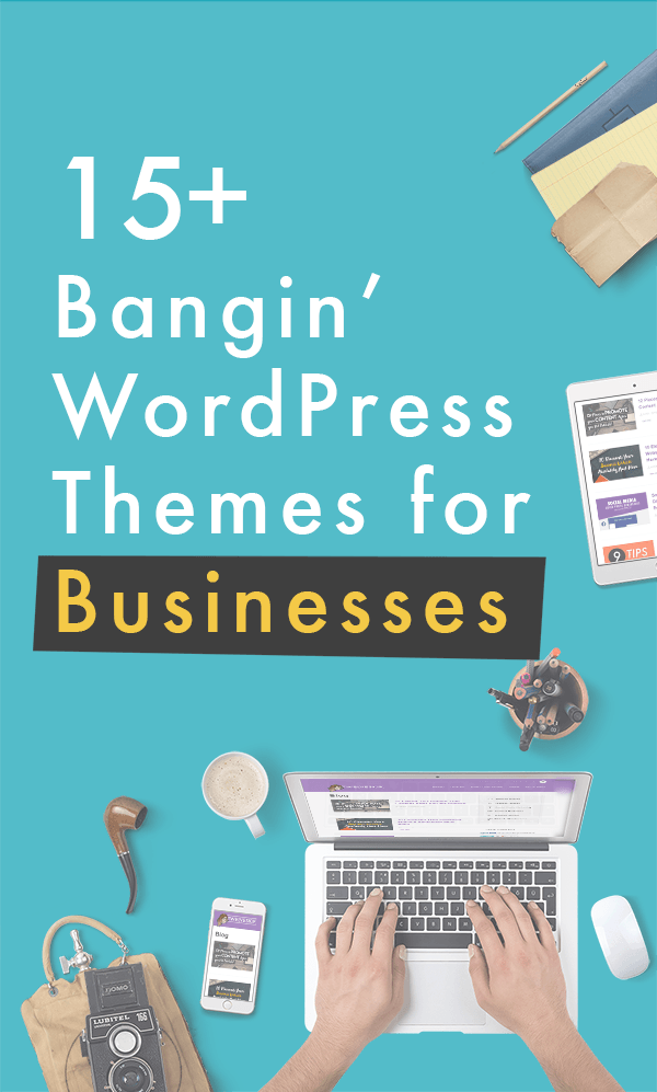 WordPress Themes For Businesses