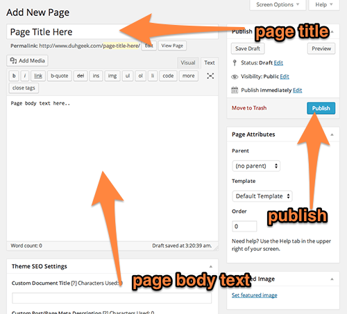 Page Editor