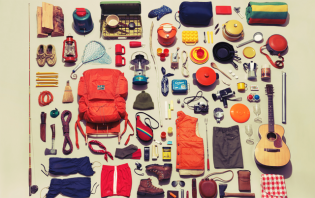 knolling photography examples