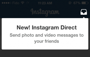how to send instagram direct message