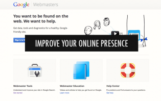 google webmaster tools - improve your online visibility