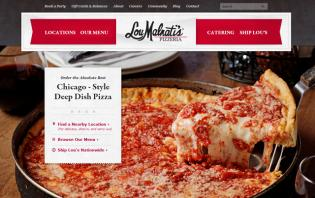 pizza web designs inspirations