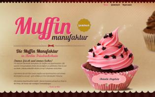 sweet cupcake web designs for inspiration