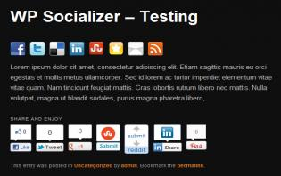 social media sharing buttons wordpress plugins
