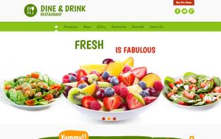 wordpress themes ideal for food sites