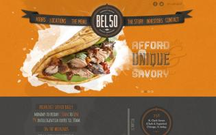 attractive food and restaurant sites web designs