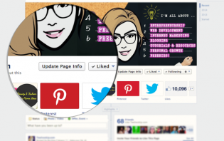 add pinterest app tab to facebook business page