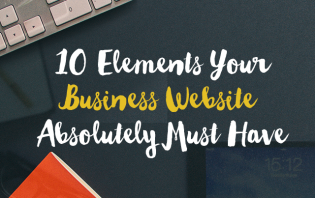 elements business website must have