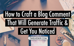 get traffic with blog comments