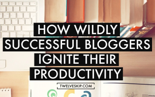 bloggers increase productivity