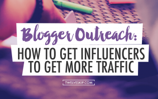 blogger outreach influencers traffic