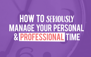 manage personal professional time
