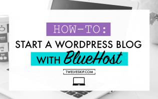 start wordpress bluehost