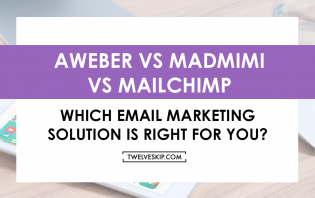aweber madmimi mailchimp email marketing