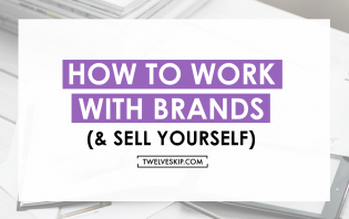 work with brands sell yourself