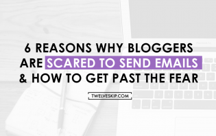 bloggers scared email