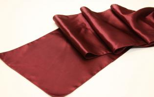 Burgundy Table Runner