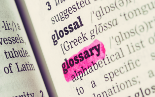 blogging terms glossary for beginners