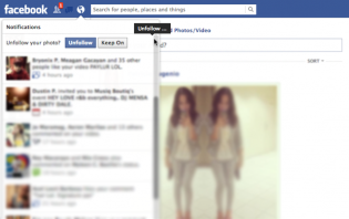 how to stop getting notifications from tagged photos or updates you commented on (facebook)