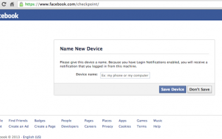 how to disable login notifications (login checkpoint) on facebook