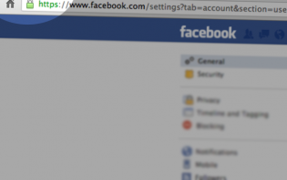 How to enable secure browsing on Facebook