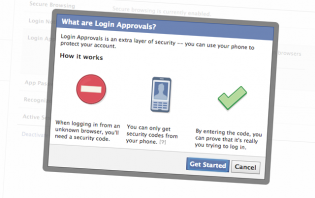 Facebook 101: How to enable Login Approvals