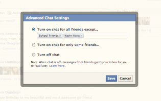 how to go offline on facebook chat