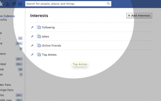 what are interests lists? and how to create your own interest list on facebook