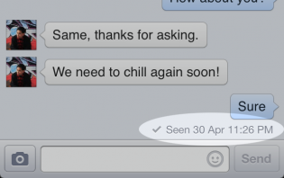 facebook chat: hiding last seen message stamp on facebook