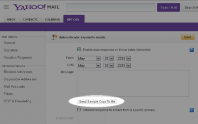 send yahoo mail