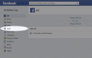 finding hidden posts in your facebook page through activity log