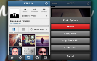 how to delete an instagram photo?