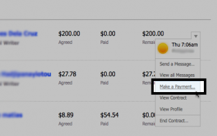 odesk 101: how to send payments to contractors