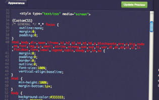 how to add a custom tumblr theme code