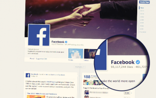 verified profiles and pages on facebook