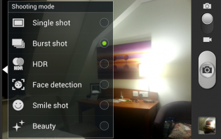 How to use Camera Burst Shot Mode on Samsung Galaxy S3